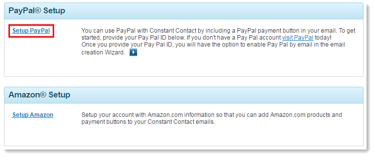 Add A Paypal Id And Payment Url To My Account