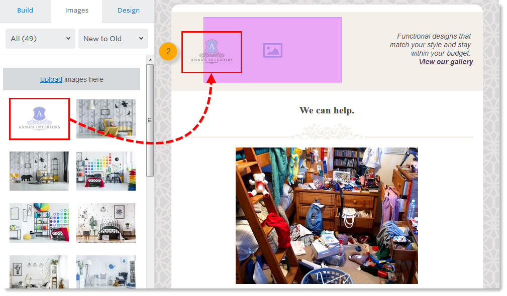 Clickable Image Links in an Email