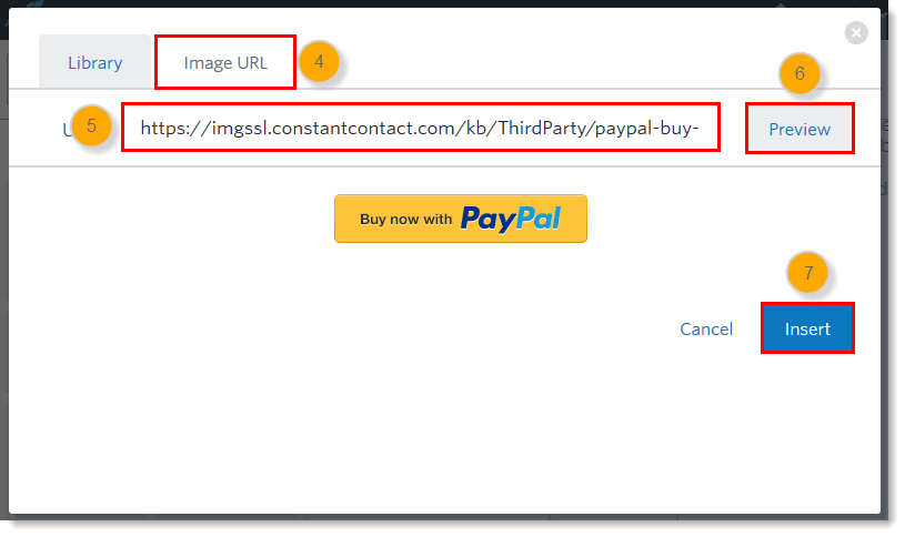 Insert a Branded PayPal Button into an Email
