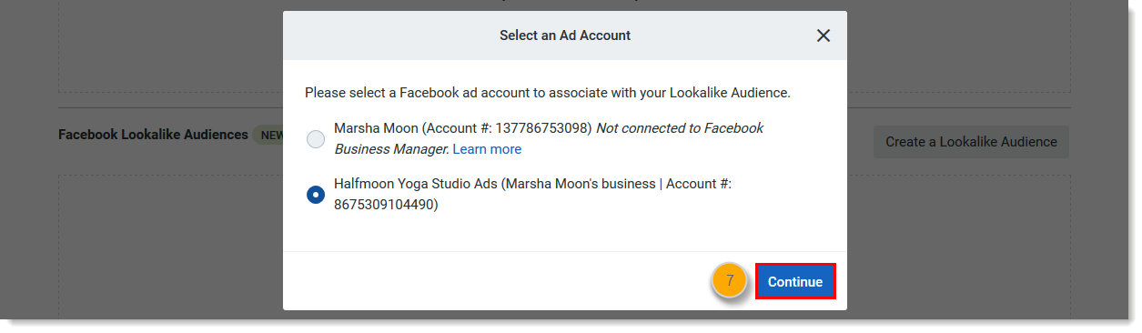 Create a Facebook Lookalike Audience to Use with an Ad or Lead Ad