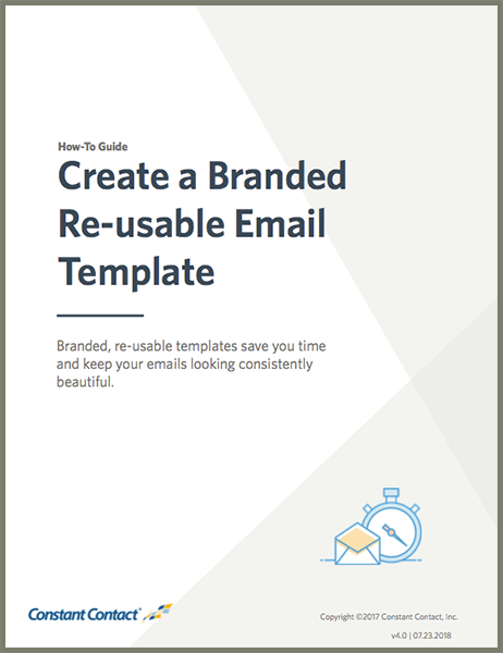 Guide Create A Re Usable Template
