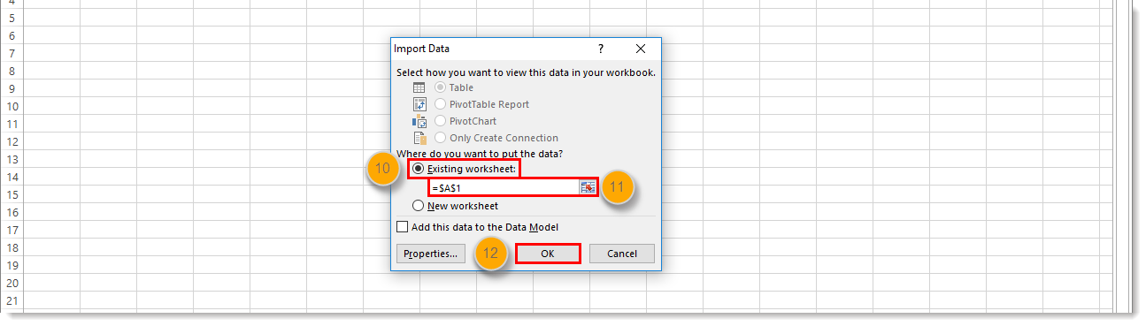 Convert a Text File or CSV File into an Excel Spreadsheet