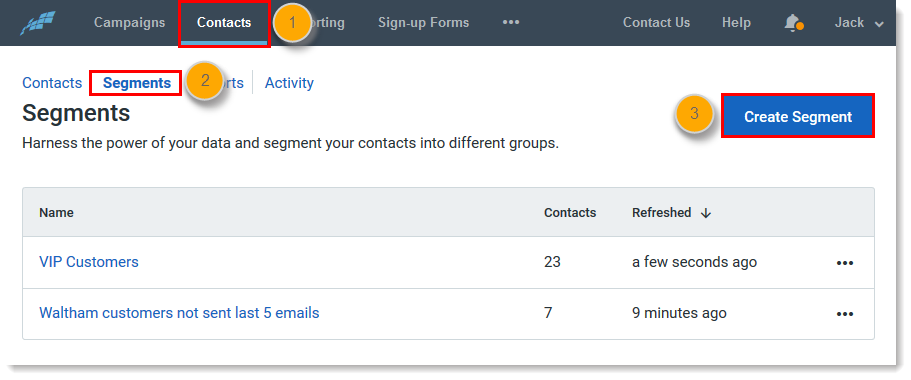 Locating Contacts Not on a List