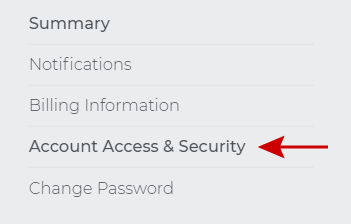 Account Access & Security
