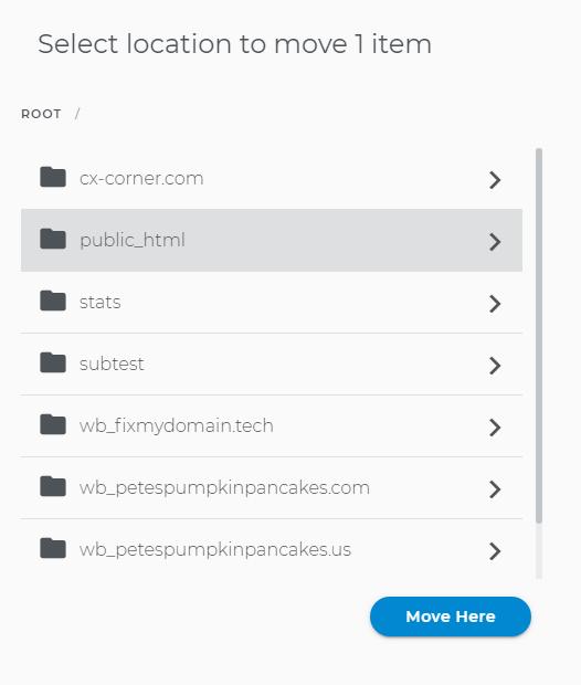 Upload status bars