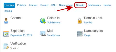 Security link