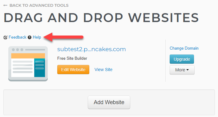 Launch Weebly icon