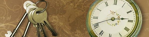 clock and Key