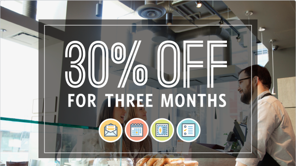30% Off For 3 Months