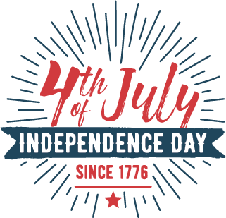 4th of July Independence Day Since 1776