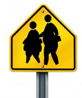 overweight crossing sign