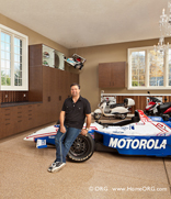 Michael Andretti ORG garage makeover