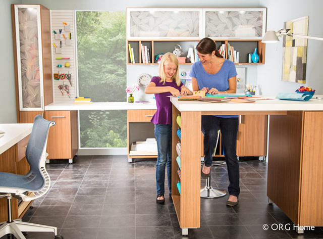 Craft Room in Thoroughbred_ORG Home