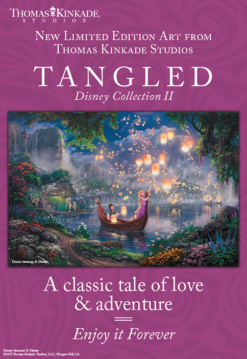 Introducing Tangled by the Thomas Kinkade Studios