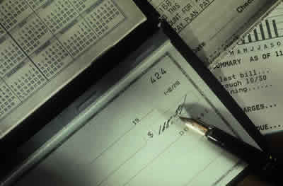Checkbook Picture