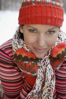 woman winter gear