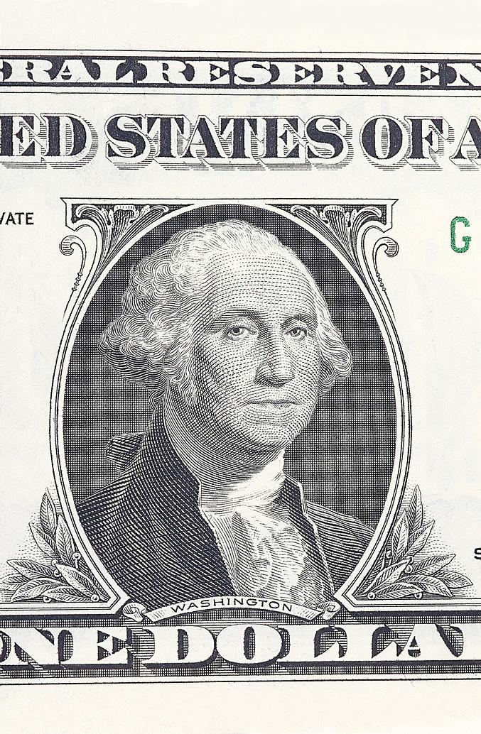 Washington Dollar Bill